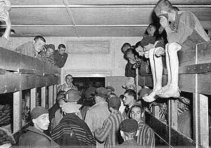jews in nazi concentration camp WWII Germany