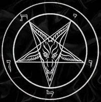 baphomet pentagram satanic symbol